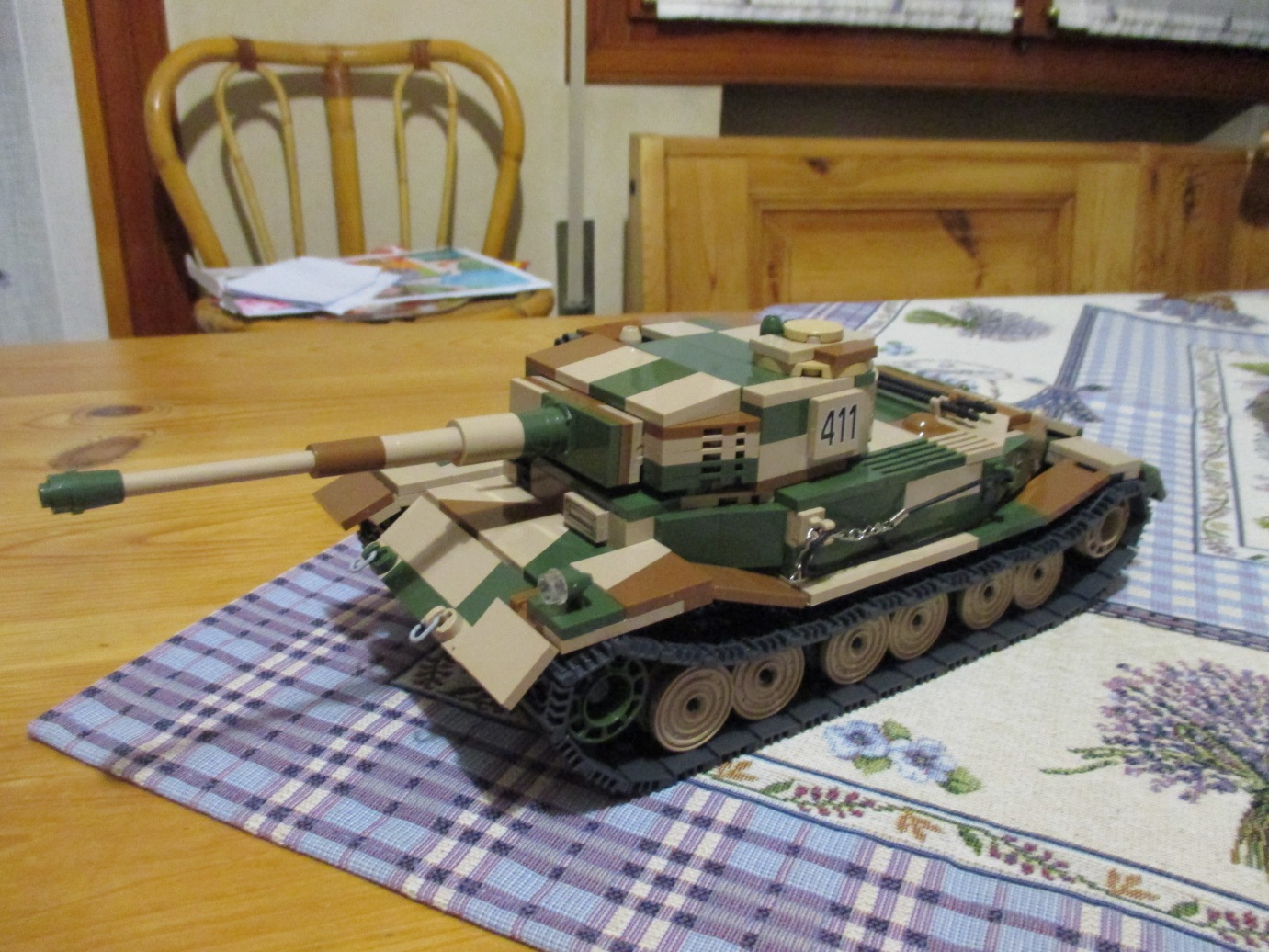 Vk45 01 tiger p cobi moc community creations and stories build the fenders was the hardest part for the rest the tank desing was pretty simple some random bricks to show a engine and rubber wires used for malvernweather Choice Image